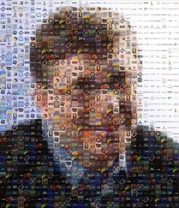 Bill Gates mosaic